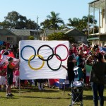 Olympic Parade at Currumbin Primary School